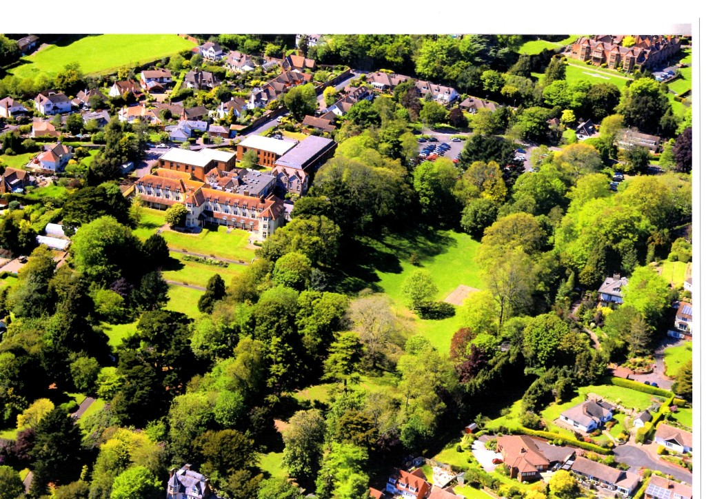 Knowle aerial view