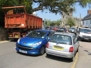 Congestion in Sidbury